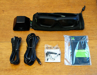Kit complet Nvidia 3D vision 2 - comme neuf