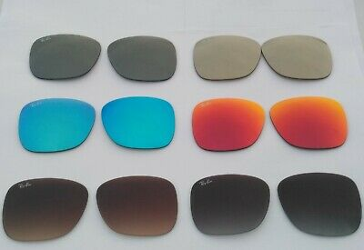 New RayBan RB4165 Justin Replacement lenses  100% Authentic 54mm