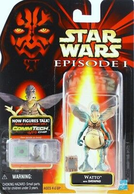Star Wars I: WATTO with DATAPAD. New, Sealed!