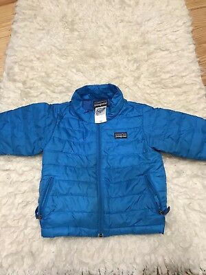 5c51ce596 PATAGONIA BABY DOWN SWEATER JACKET Blue Size 18M 18 months - $18.50 ...