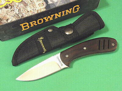 """Browning 322803 Cocobolo Wood Drop Point full tang knife 6 3/4"""" overall 803 NEW!"""