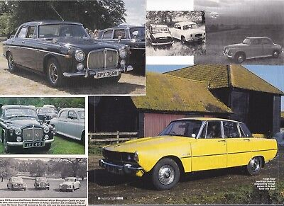 64 LOT Vintage ROVER Cars, Neat Variety of Magazine Clips, All are P4, P5 & P6