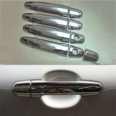 DZ951 Chrome Door Handle Cup Bowls fit for TOYOTA Camry 06-11 Highlander 08-10☆