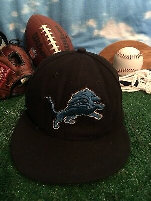 competitive price 85e0b a6f10 ... inexpensive nfl detroit lions new era 59fifty fitted hat cap size 7 1 8  55d1f 7759f