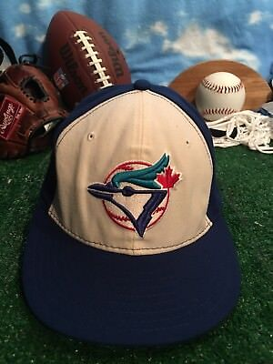 separation shoes 2a5b6 a4bda NEW ERA 59FIFTY CAP TORONTO BLUE JAYS AUTHENTIC size 7 FITTED 5950 HAT h39