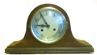 Beautiful old Napoleon hat mantle clock in good working condition