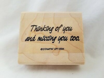 Missing You Thinking Of You Kiss You Greeting Cards Brainbox Candy