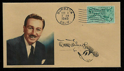 Walt Disney collector's envelope w original period stamp 66 years old! *OP662