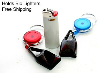 Lighter Leash Retractable UNIVERSAL Cigarette BIC Lighter Leash Holder  Popular