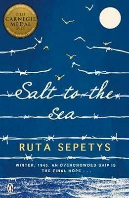 NEW Salt to the Sea By Ruta Sepetys Paperback Free Shipping