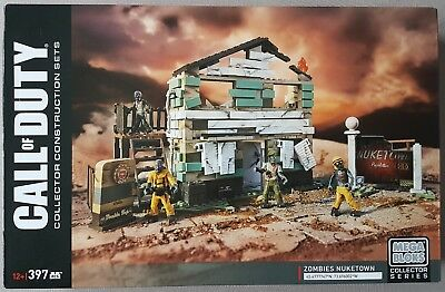 Call of Duty Mega Bloks Zombies Nuketown neu new sealed never released DPW85 397