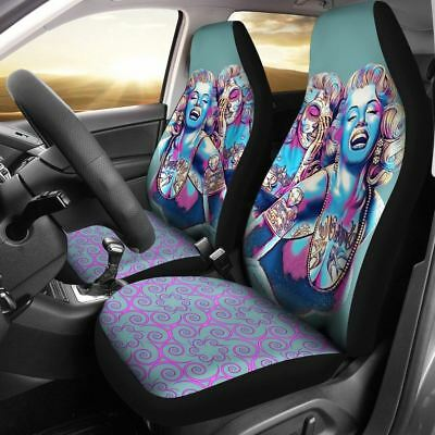 Marilyn Monroe Colorful Car Seat Cover