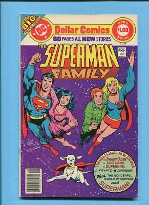 The Superman Family #182 80 Page Giant Supergirl Krypto DC Comics April 1977
