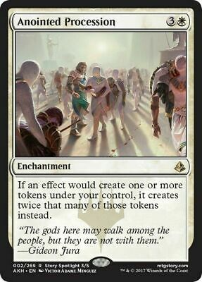 Anointed Procession ~ Amonkhet ~ NearMint/Excellent+ ~ Magic the Gathering
