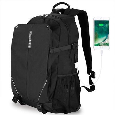 Laptop Backpack,Water Resistant Business, USB Charging Port Under 17 Inch Laptop