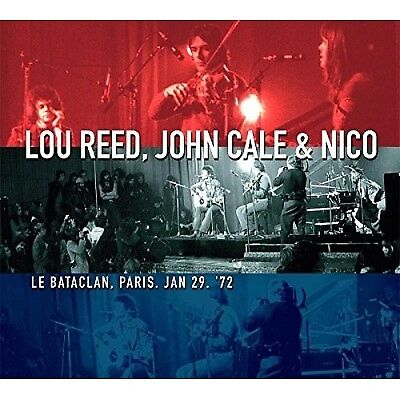 Lou Reed, John Cale & Nico - Le Bataclan, Paris Jan 29th 1972 LTD Edition VINYL