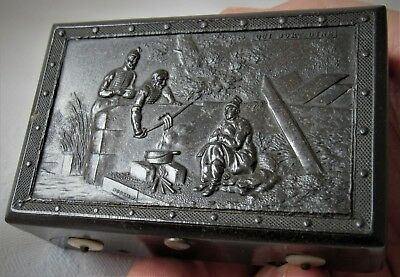 Superb Quality & Very Rare Miniature Music Box, 19th Century