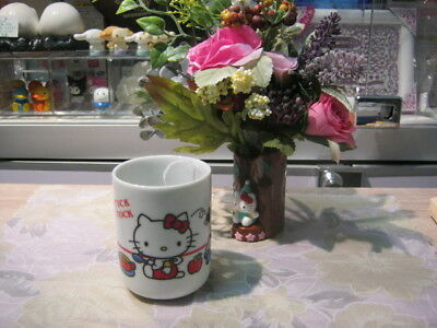 Sanrio Hello Kitty Ceramic Japanese Tea Cup @1976 (Without Box)