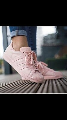 best cheap d289d 63d65 ORIGINAL ADIDAS SCHUHE Sneaker Superstar Glossy Toe Cap Rose Rosa 37 Neuw