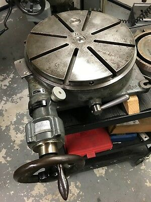 "SIP PD-3 Swiss 13.7"" precision rotary table, jig bore, mill, grinder, Bridgeport"