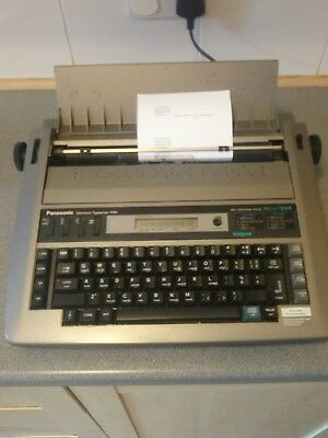 Panasonic electric electronic typewriter 194