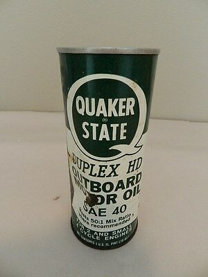 Vintage Outboard Motor Oil-Quaker State Outboard Oil-Quicksilver-Vintage Boating