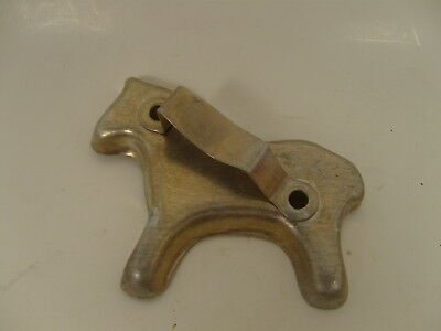 Vintage Metal Horse Pony Cookie Cutter Aluminum w/Handle 4x3.5-inch