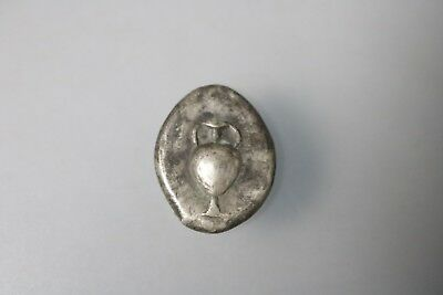 Ancient Interesting Greece Silver Stater Coin 400 - 350 B.C.