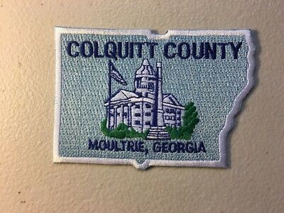 Colquit County Georgia Moultrie City Embroidered Patch
