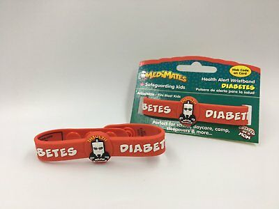 Medical alert wristband - diabetes