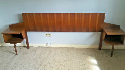 Very Rare Vintage A Younger Ltd Headboard Kingsize
