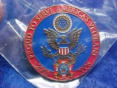 NOS VFW Pin  Sealed 1 1/4 Inches Across