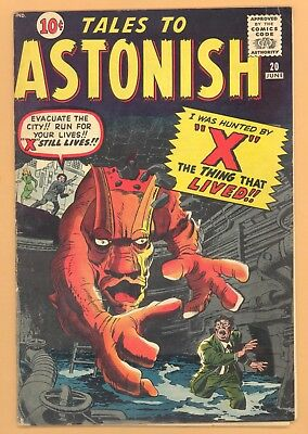 Tales To Astonish #20 Marvel Silver Age Vg+