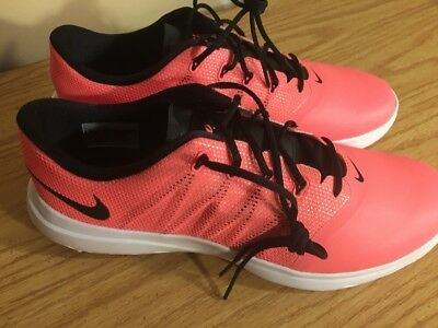 cheap for discount 66119 f5c83 NIKE Lunar Empress 2 Womens Size 9 Golf Shoes Lava Black White New 819040- 600