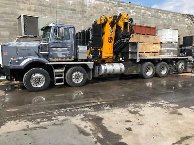 2016 Western Star 4900 twin steer with Effer 1355 Awesome 131 foot reach