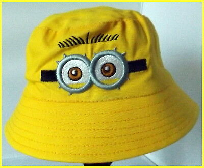 Children's Cotton Bucket Hat - Minions - Top Quality