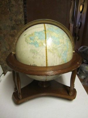 World celestial globes maps atlases globes antiques page 3 rare vtg cram imperial powell 12 globe world map atlas c87 1980s wood purell gumiabroncs Gallery