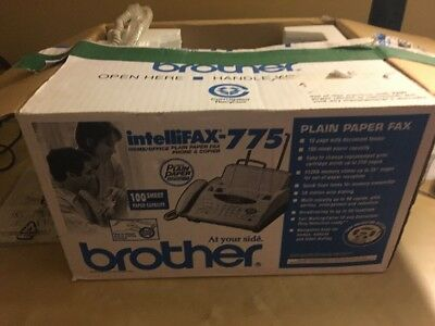 Brother IntelliFAX-775 Plain Paper Fax Phone & Copier , office