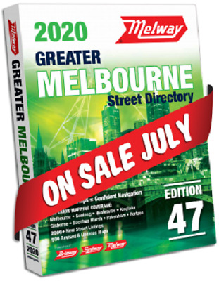 MELWAY 2019 Melbourne Street Directory Edition 46 - BRAND NEW FREE POSTAGE