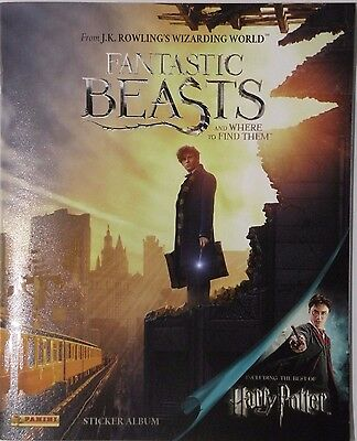 Fantastic Beasts And Where To Find Them Sticker Album