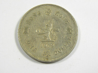 1 Dollar Hong Kong 1979 #6539