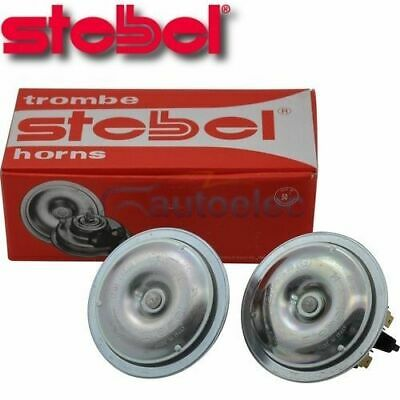 Stebel Electric Twin Horn High Tone Disc New For Car Truck 12V 12 Volt Hf80/2