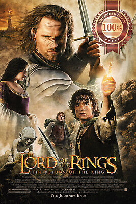 New The Lord Of The Rings The Return Of The King Film Movie Print Premium Poster
