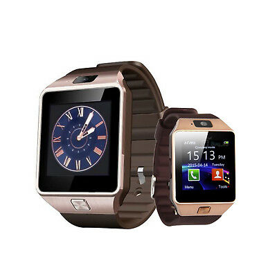 DZ09 Bluetooth Smart Wrist Watch Phone&Camera&SIM SLOT For Android IOS Phone LOT