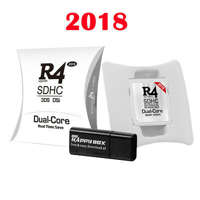 2018 Upgrade R4 SDHC Micro SD Speicheradapter Card F DS 3DS 2Ds Ndsi Ndsl Nds GL