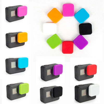 Soft Silicone Lens Protective Cap Cover For Gopro Hero 6 5 Camera Accessories