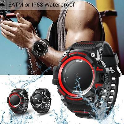 Smart Sports Watch T1 OLED Heart Rate Monitor IP68 Waterproof for Android IOS UK