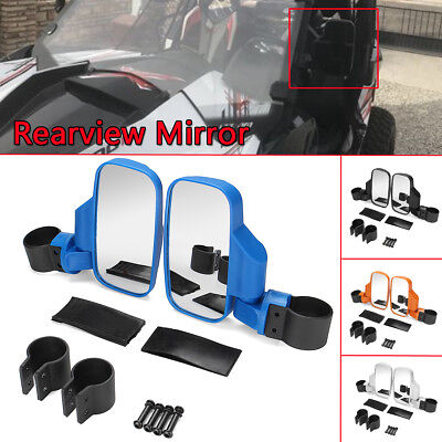 Side View Mirror Set UTV Offroad High Impact Break For Polaris 800/900/1000