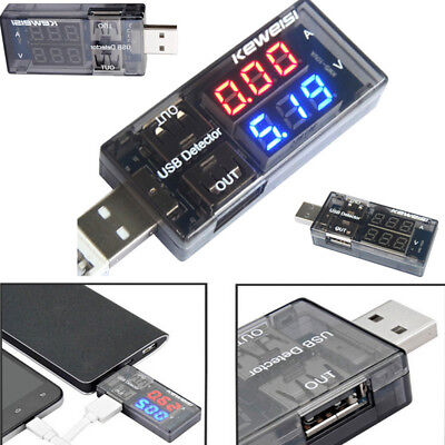 Mini USB Charger Doctor Voltage Current Meter Mobile Battery Test Power Detector