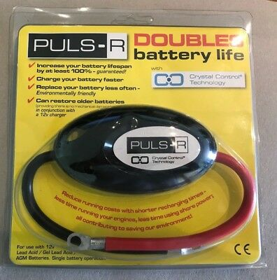 Puls-R Battery Conditioner - increase your battery lifespan.